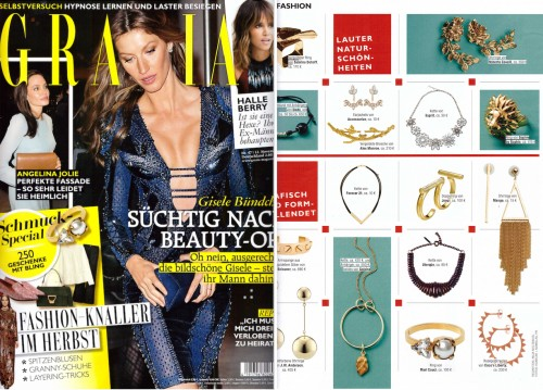 SOPHIE by SOPHIE lion ring in Grazia