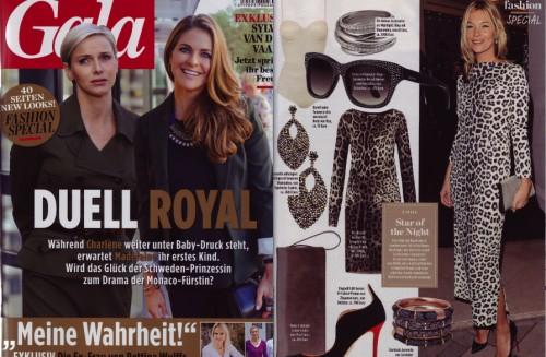 Nachstylen: Kate Moss mit Charlotte earrings von Sophie Gyllenhammar