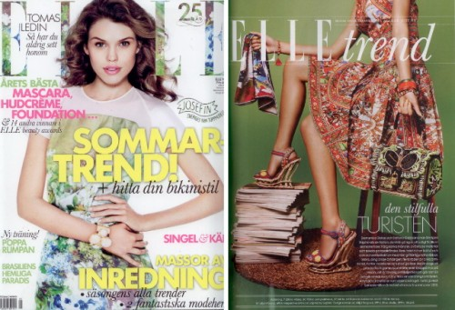 Emaille Armreif in Elle