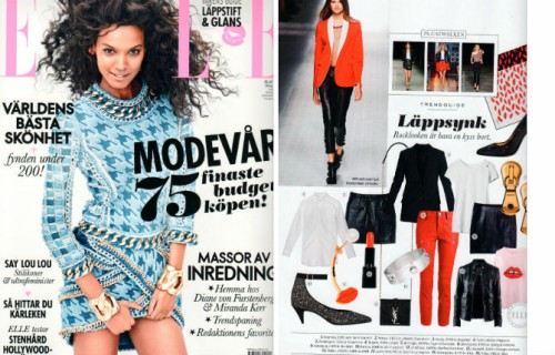 Screw bangle in ELLE Norway issue