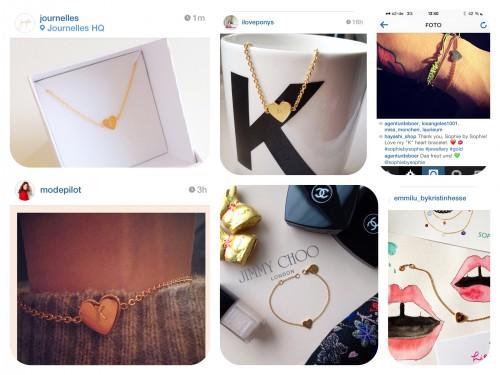 Heartbracelet- Bloggerlove