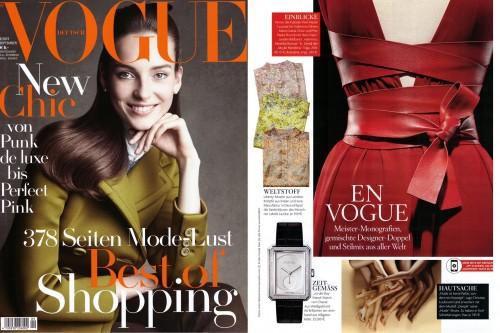 LaJolie seen in Vogue