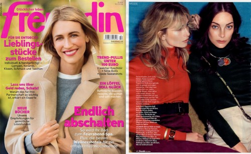 SOPHIE by SOPHIE one stone cuff seen in FREUNDIN